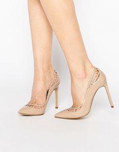 Zapatos de vestir con tacón y abertura de River Island