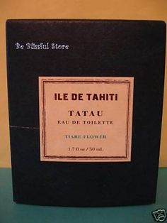 Bath & Body Works ILE De Tahiti TIARE FLOWER Perfume Large Full Size  Buy at www.beblissful.ecrater.com