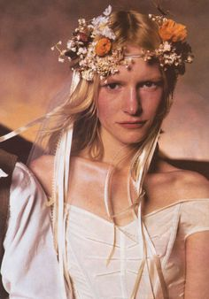 Kirsten Owen by Steven Meisel for Vogue US June 1998