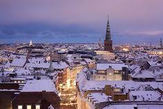 Copenhagen covered in snow by birklund, via Flickr