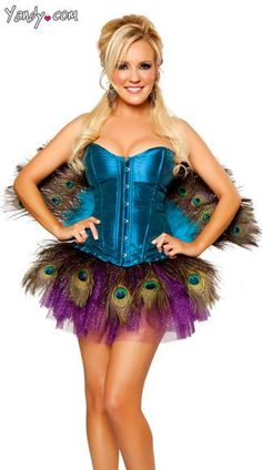 Sexy Peacock Costume By Bridget, Sexy Peacock Halloween Costume