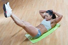 5 simple exercises that really work! (work some abs)