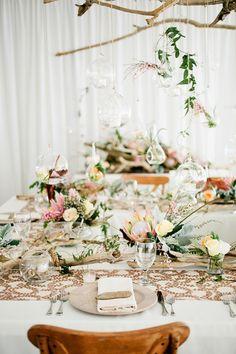 Driftwood wedding reception