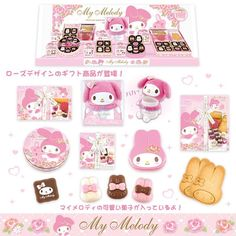#MyMelody sweets and candies ♪(´ε` )