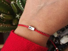 Excited to share this item from my shop: Cross bracelet Red string bracelet March bracelet Martis Martisor Protection charm Religious jewelry gift for Men Christian gift for Women Christian Bracelets, Christian Jewelry, Religious Gifts, Religious Jewelry, St Michael Pendant, Christian Gifts For Women, Red String Bracelet, Mens Gold Bracelets, Cross Jewelry