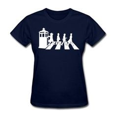 Like Doctor Who - Abbey Road  T-Shirt | Spreadshirt | ID: 12091172