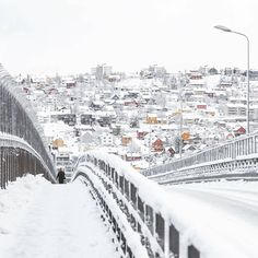 """9,523 Likes, 148 Comments - Northern Norway (@mittnordnorge) on Instagram: """"Tromsø today ❄ 📷: @jomar79"""""""