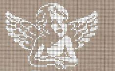 Terri Woodward's media statistics and analytics Cross Stitch Alphabet, Cross Stitch Baby, Cross Stitch Charts, Cross Stitch Patterns, Filet Crochet, Crochet Chart, Stitch And Angel, Cross Stitch Angels, Cross Stitching