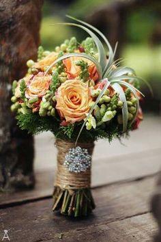 Orange bouquet so pretty