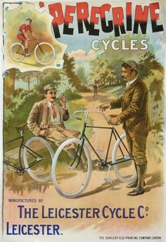 POSTER PERECRINE CYCLES THE LEICESTER CYCLE Co THE DANGERFIELD PRINTING COMPANY #FreedomOfArt Join us, SUBMIT your Arts and start your Arts Store https://playthemove.com/SignUp