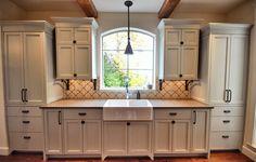 Custom Kitchen Cabinets built & installed by James Weedmark of J Weedmark Millwork