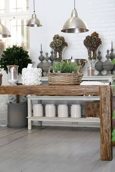Gorgeous collected kitchen