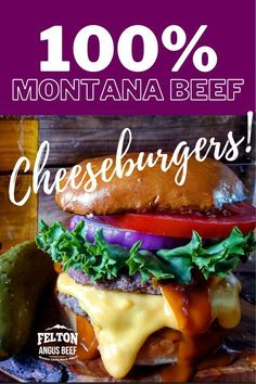 """The best cheeseburgers grill up with the best ground beef. Ours is so good it should be labeled """"Ground Steak""""."""