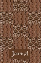 Patterned Journal FOUR by Milena Martinez