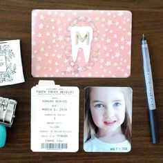 Document your child's visit from the tooth fairy and their changing smile with this fun and simple tutorial. Free downloads included!