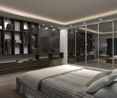 Dormitório de Casal - Projeto Eko Ambientes