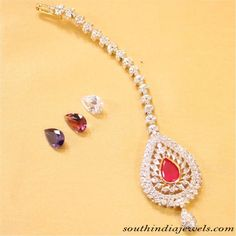Maang Tikka Designs ~ South India Jewels