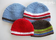 Ravelry: Baby Boy Beanie pattern by Anna Virginia
