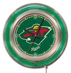 Use this Exclusive coupon code: PINFIVE to receive an additional 5% off the Minnesota Wild Neon Logo Clock at SportsFansPlus.com