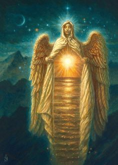 Angel of Light by Jake Baddeley Mysteries Of The World, Angel Guide, Angel Pictures, Angels Among Us, Angel Art, Divine Light, Divine Feminine, Pictures To Paint, Ciel