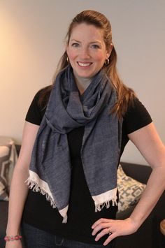 Loving this chic nursing scarf from The Honest Company new feeding line! AD