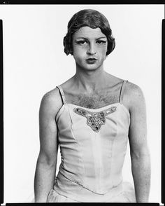 John Martin, dancer, Les Ballets Trockadero de Monte Carlo, New York, March 15, 1975   	Copyright	 	© 2008 The Richard Avedon Foundation