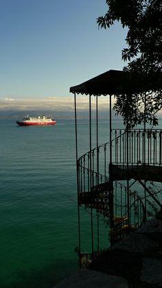 Stairs - Corfu, Greece