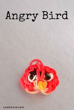 How to Make an Angry Bird Charm. so cool!!! I LOVE ANGRY BIRDS!!!!