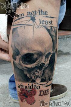 #skulltattoo #skull #tattoo