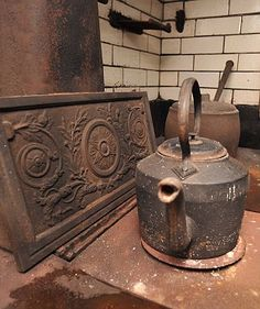Victorian kitchen that has remained untouched for 60 years discovered in stately home renovation...interesting story & items that were discovered.
