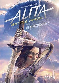 Details about Alita Battle Angel Movie Poster James Cameron Art 2019 Film Print - - James Cameron, Cyberpunk, Alita Movie, Alita Battle Angel Manga, Angel Movie, Female Cyborg, Film Games, Kino Film, Chef D Oeuvre