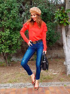 Viva el color! Y sobre todo los colores que te dan un subidón de energía! Hoy he decidido poner bien de color al día con este look basado en camel y rojo. Llevo jeans de STRADIVARIUS, jersey de PRIMARK, abrigo de ÁNGEL SCHLESSER, cinturón de GUCCI, boina de FETICHE SUANCES, bolso de MIU MIU, anillo […]