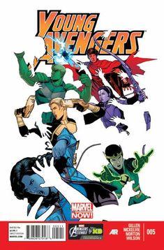 The cover to Young Avengers #5 (2013), art by Jamie McKelvie & Matthew Wilson