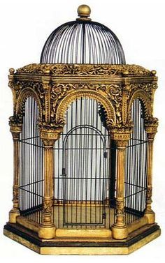 1000 images about birdcages cages oiseaux on for Petite cage a oiseaux decorative