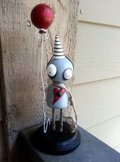 Handmade Voodoo Doll Nimbus - Anniversary Edition by MoodyVoodies, $129.99