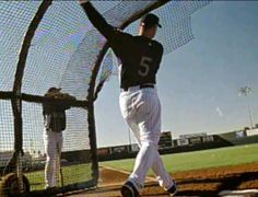 """Batting Practice"" (2007): Rockies players show their power."