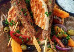 Bárány kofta | CatFlower receptje - Cookpad receptek Tacos, Mexican, Chicken, Meat, Ethnic Recipes, Food, Cilantro, Eten, Meals