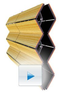 Skyfold Classic™ Series acoustic movable walls