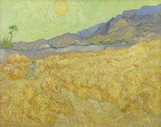Vincent van Gogh (1853-1890), Wheatfield with a Reaper, 1889, Van Gogh Museum, Amsterdam (Vincent van Gogh Foundation)