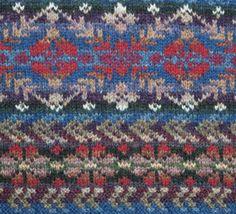 Marina.  Alice & Jade Starmore www.virtualyarns.com Fair Isle Knitting sweaters stranded