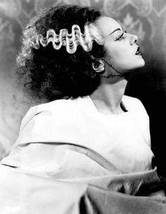 Elsa Lanchester as The Bride of Frankenstein (1935)