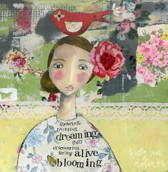 blooming by kelly rae roberts, via Flickr
