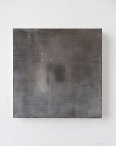 Yoshiaki Mochizuki  Untitled 6/6, 2014 Gesso On Board, Clay, Graphite, Palladium Leaf