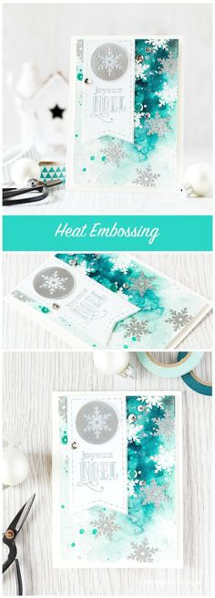 Lots of heat embossing with the new Clearly Besotted STAMPtember set! Find out more by clicking the following link: http://limedoodledesign.com/2015/09/heat-embossing-2/