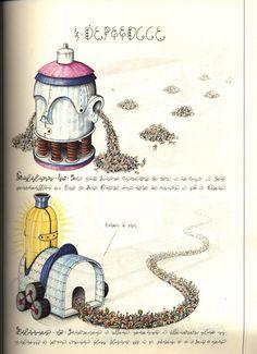 Le monde imaginaire, surréaliste et indéchiffrable du Codex Seraphinianus