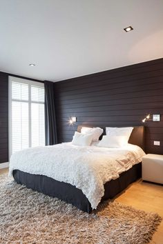 slaapkamer-bed-deken-tapijt
