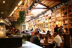 Restaurant: Cuines de santa caterina in the Caterina Market!