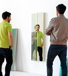 A Mirror That Plays Simple But Awesome Optical Tricks | Co.Design: business + innovation + design