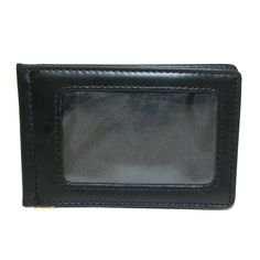 3 D Belt Company Men's Leather Money Clip Wallet with ID Holder