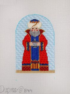 Diane's Taking Time Out To Needlepoint, wise man nativity figure